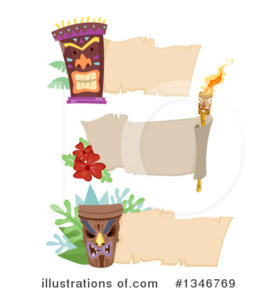 Tiki Torch Clipart #1346769 by BNP Design Studio
