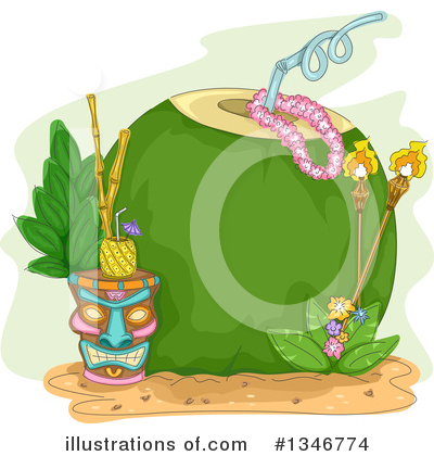Tiki Clipart #1346774 by BNP Design Studio