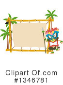 Royalty-Free (RF) Polynesian Clipart Illustration #1346781