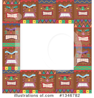 Royalty-Free (RF) Polynesian Clipart Illustration by BNP Design Studio - Stock Sample #1346782