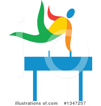 Gymnastics Clipart #1347257 by patrimonio