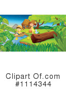Royalty-Free (RF) Pond Clipart Illustration #1114344