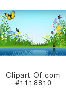 Royalty-Free (RF) Pond Clipart Illustration #1118810