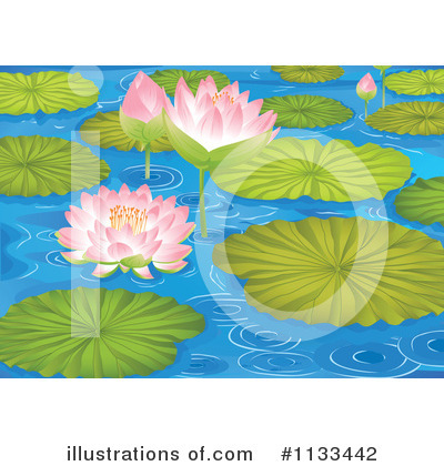 Water Lily Clipart #1133442 by Graphics RF