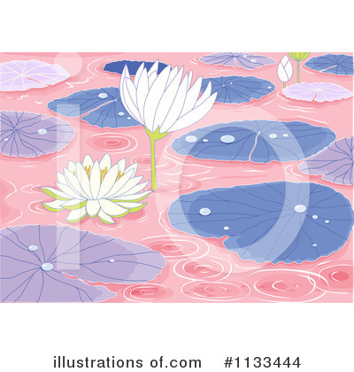 Water Lily Clipart #1133444 by Graphics RF