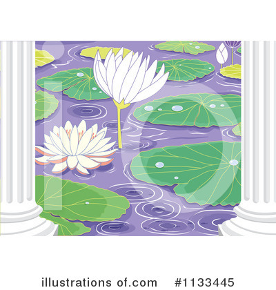 Water Lily Clipart #1133445 by Graphics RF