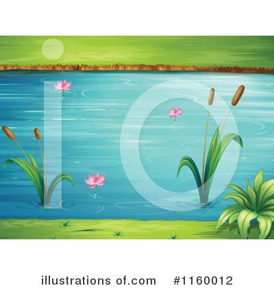 Cattail Clipart #1160012 by Graphics RF