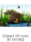 Royalty-Free (RF) Pond Clipart Illustration #1181952