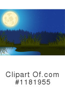 Royalty-Free (RF) Pond Clipart Illustration #1181955