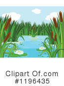 Pond Clipart #1196435 by Pushkin