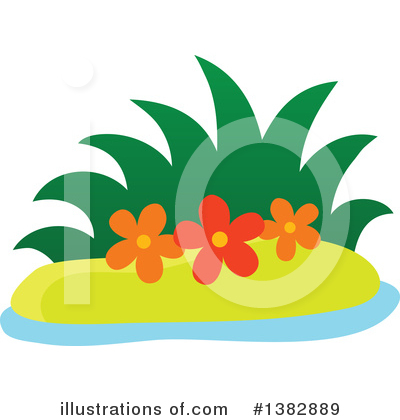Island Clipart #1382889 by visekart