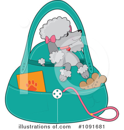 Purse Clipart #1091681 by Maria Bell