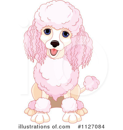 Poodle Clipart #1127084 by Pushkin