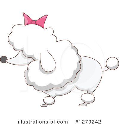 Poodle Clipart #1279242 by BNP Design Studio