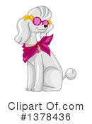 Poodle Clipart #1378436 by BNP Design Studio