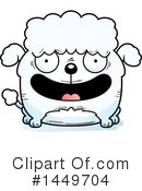Poodle Clipart #1449704 by Cory Thoman