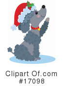 Royalty-Free (RF) Poodle Clipart Illustration #17098