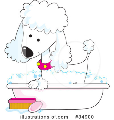 Dog Groomer Clipart #34900 by Maria Bell