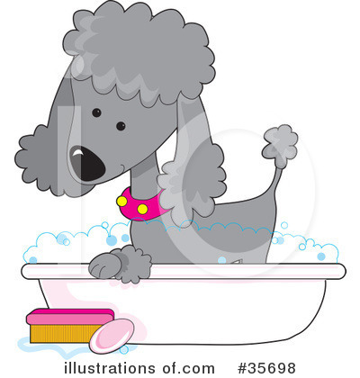 Dog Groomer Clipart #35698 by Maria Bell