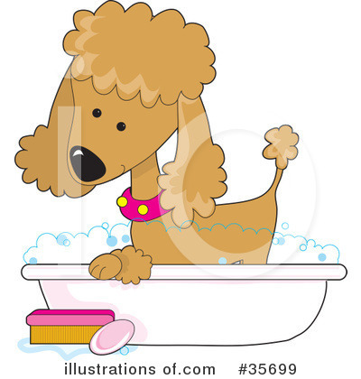 Dog Groomer Clipart #35699 by Maria Bell