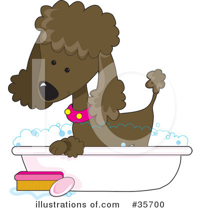 Dog Groomer Clipart #35700 by Maria Bell