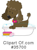 Poodle Clipart #35700 by Maria Bell