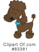 Royalty-Free (RF) Poodle Clipart Illustration #83381
