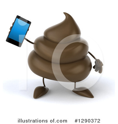 Royalty-Free (RF) Poop Character Clipart Illustration by Julos - Stock Sample #1290372