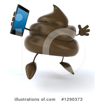 Royalty-Free (RF) Poop Character Clipart Illustration by Julos - Stock Sample #1290373