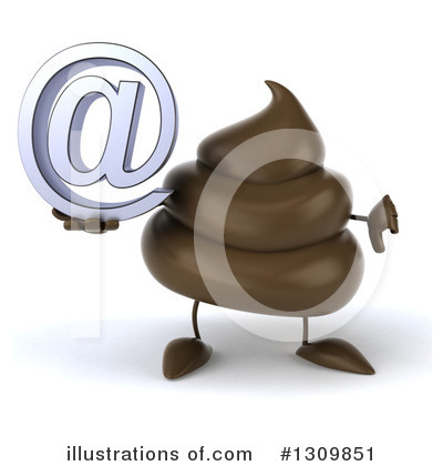 Poop Character Clipart #1309851 by Julos
