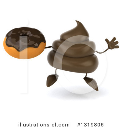 Poop Character Clipart #1319806 by Julos