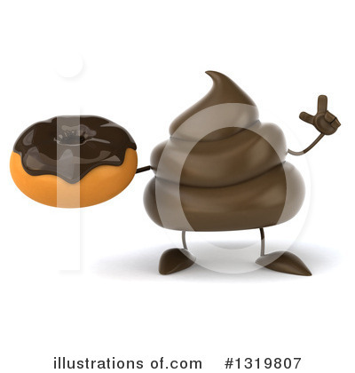 Poop Character Clipart #1319807 by Julos