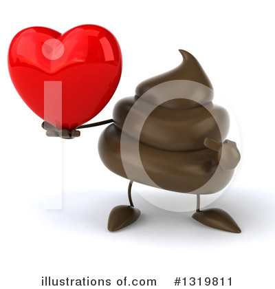 Poop Character Clipart #1319811 by Julos