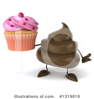Poop Character Clipart #1319816 by Julos