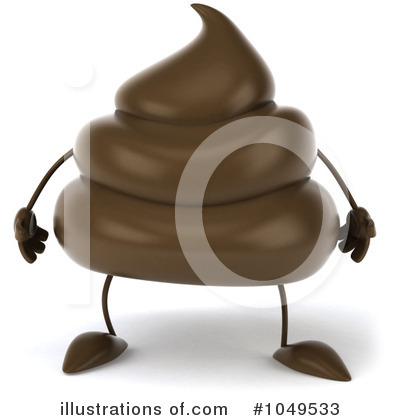 Poop Character Clipart #1049533 by Julos