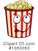 Royalty-Free (RF) Popcorn Clipart Illustration #1063063