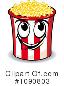 Royalty-Free (RF) Popcorn Clipart Illustration #1090803