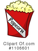 Royalty-Free (RF) Popcorn Clipart Illustration #1106601