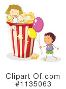 Royalty-Free (RF) Popcorn Clipart Illustration #1135063