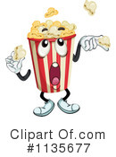 Royalty-Free (RF) Popcorn Clipart Illustration #1135677