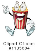 Royalty-Free (RF) Popcorn Clipart Illustration #1135684