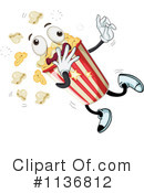 Royalty-Free (RF) Popcorn Clipart Illustration #1136812