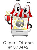 Popcorn Clipart #1378442 by BNP Design Studio