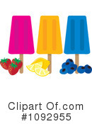 Royalty-Free (RF) Popsicle Clipart Illustration #1092955
