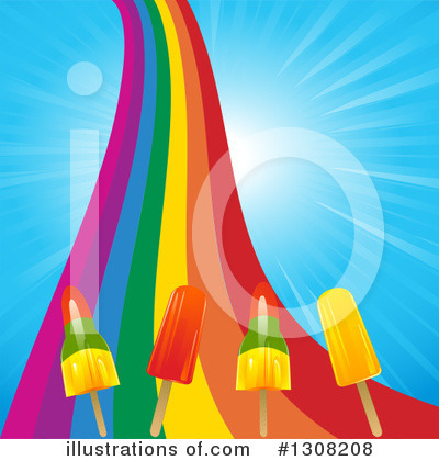 Rainbow Clipart #1308208 by elaineitalia