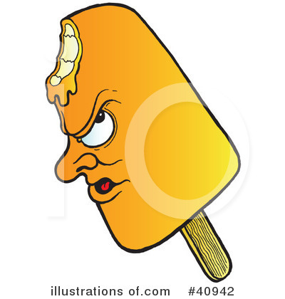 Popsicle Clipart #40942 - Illustration by Snowy