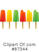 Royalty-Free (RF) Popsicle Clipart Illustration #87344