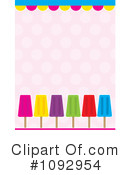 Royalty-Free (RF) Popsicles Clipart Illustration #1092954