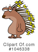 Royalty-Free (RF) Porcupine Clipart Illustration #1046338