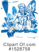 Royalty-Free (RF) Poseidon Clipart Illustration #1528758